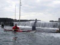 Eau en cascade à Porto Stazzo