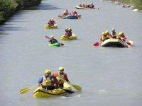 Canoe, Kayak e Raft