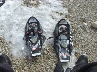 Sale and rental of snowshoes