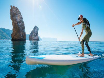 Isola del vento Paddle Surf
