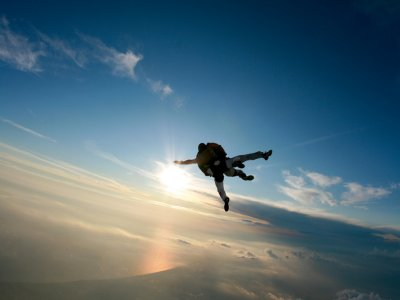 Skydiving in Melendugno with videos and photos