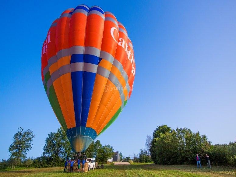 balloon ride ??