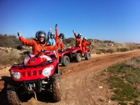 Giro quad 3 ore e mezza a Pisa (team building)