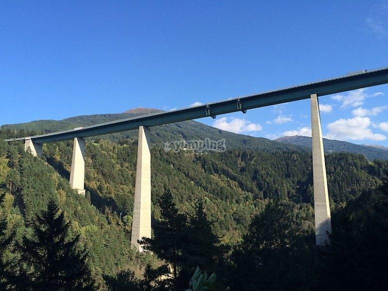 The bridge in Austria