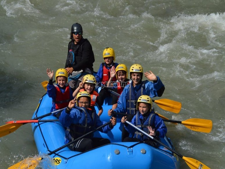 il rafting è per tutti