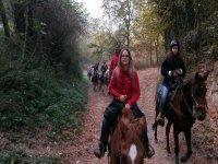 a passeggio a cavallo