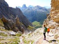 trekking in montgna