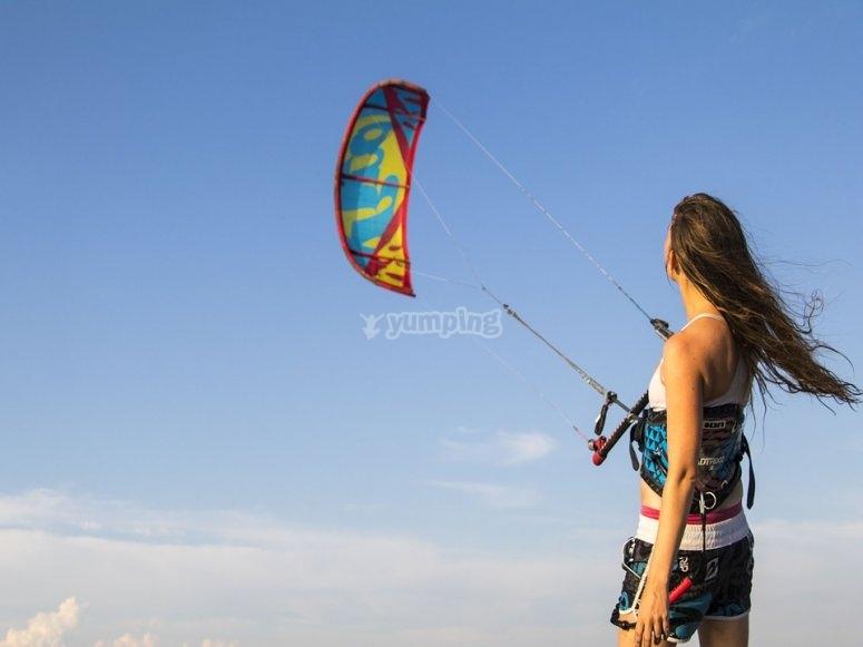 lezioni di kite