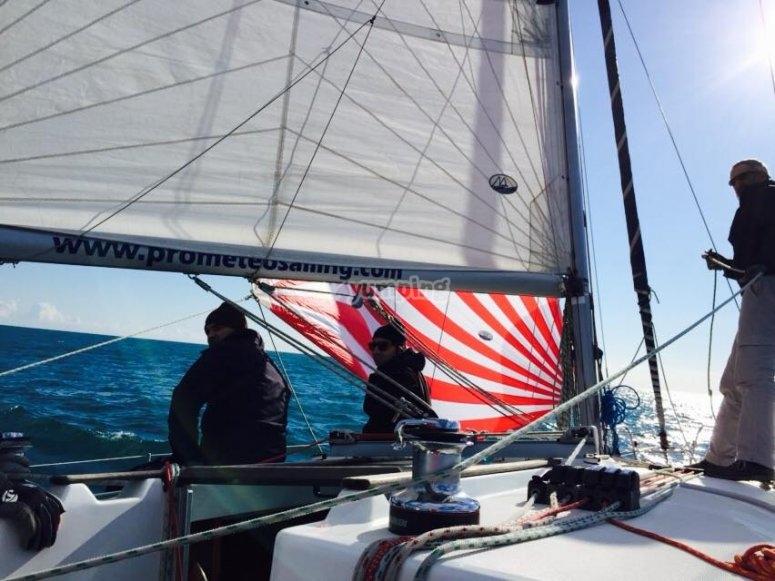 La barca a vela, una passione