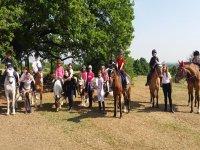 Pon cavalli e bambini
