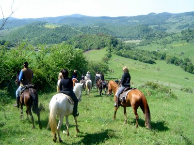 Passeggiata a cavallo a Uzzano 30 minuti