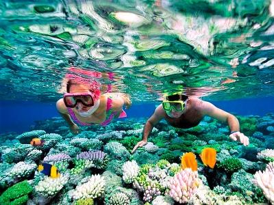2 hours by boat snorkeling on Elba