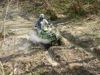 Quad nel fango