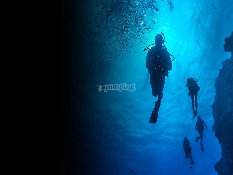 esperienze in acqua