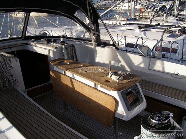 gli interni delle barche