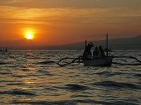 We pull the nets with the catch at dawn, Tropea