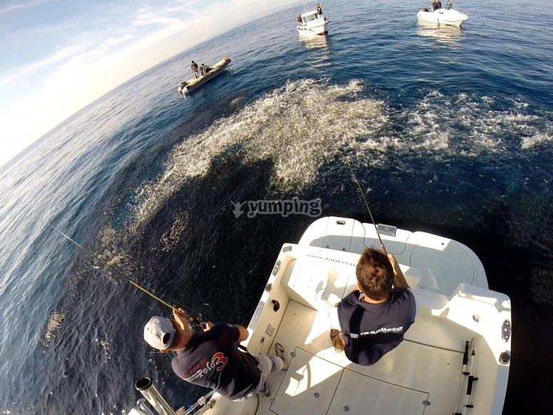 360 degree fishing