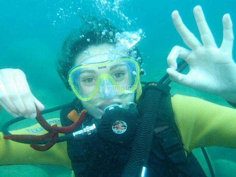 emozioni sott'acqua