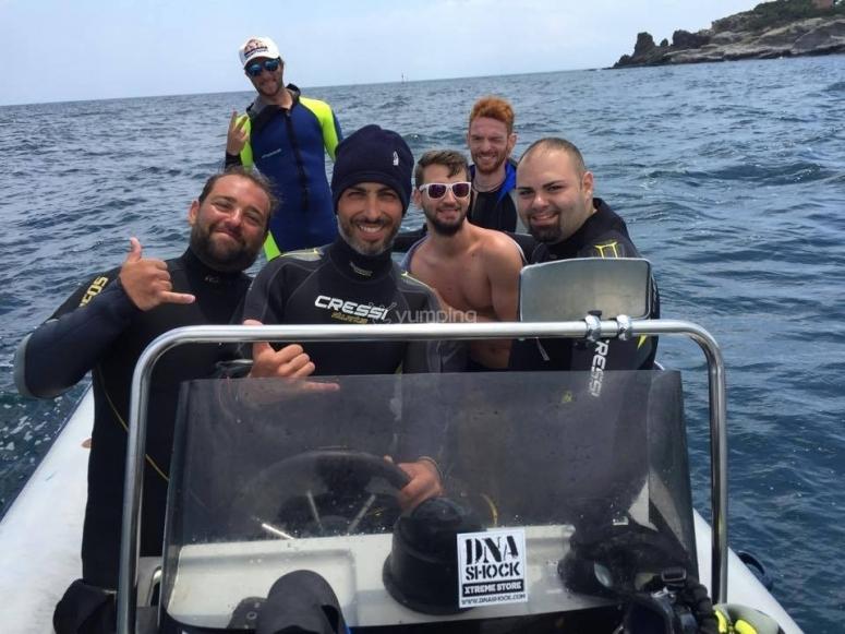pronti ad immergerci