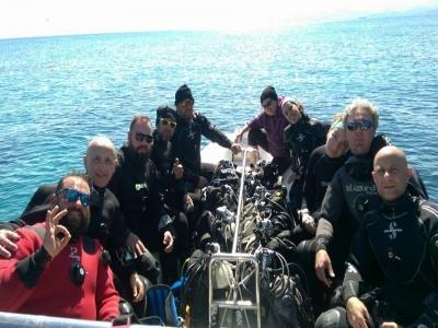 Guided dive + equipment, Acitrezza