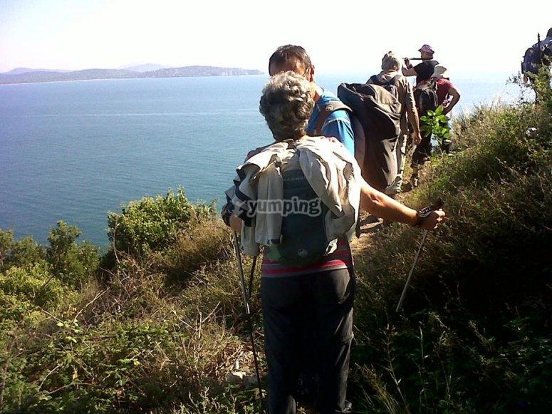 our paths that reach the sea