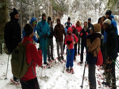 Snowshoeing with overnight stay in Potenza (10 hours)
