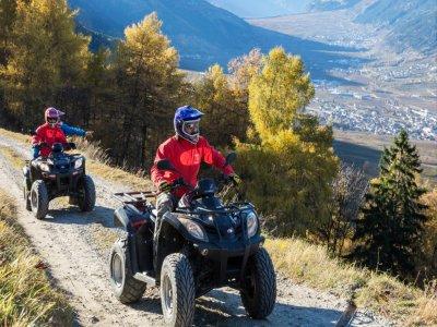 Quad excursion (2h) + stay, Monte Amiata