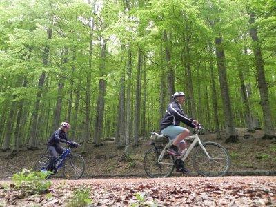 Downhill + stay on Monte Amiata