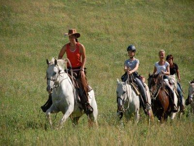 Trekking a cavallo Monte Amiata+soggiorno(weekend)