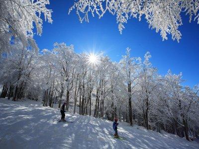 Ciaspolata e noleggio sci, Monte Amiata+soggiorno