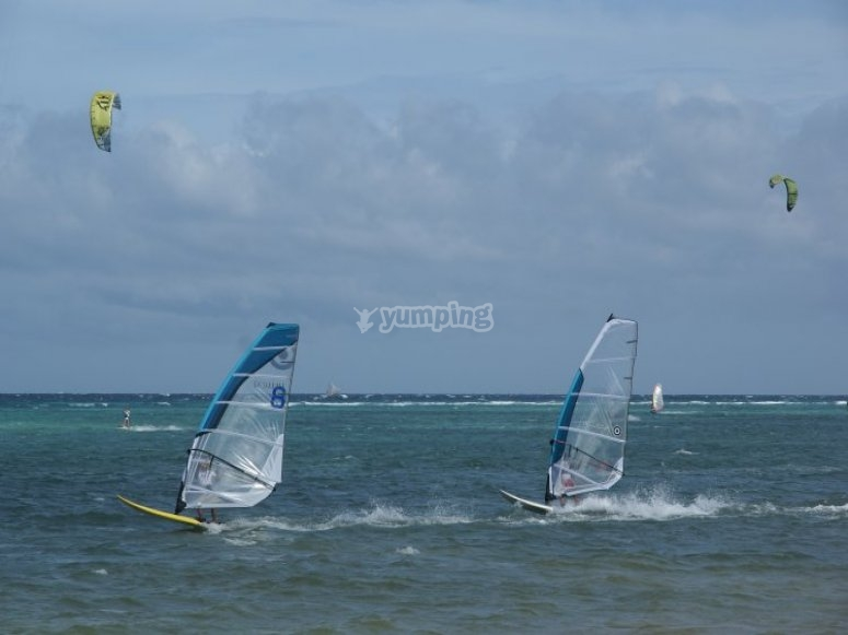 Windsurf lezzioni