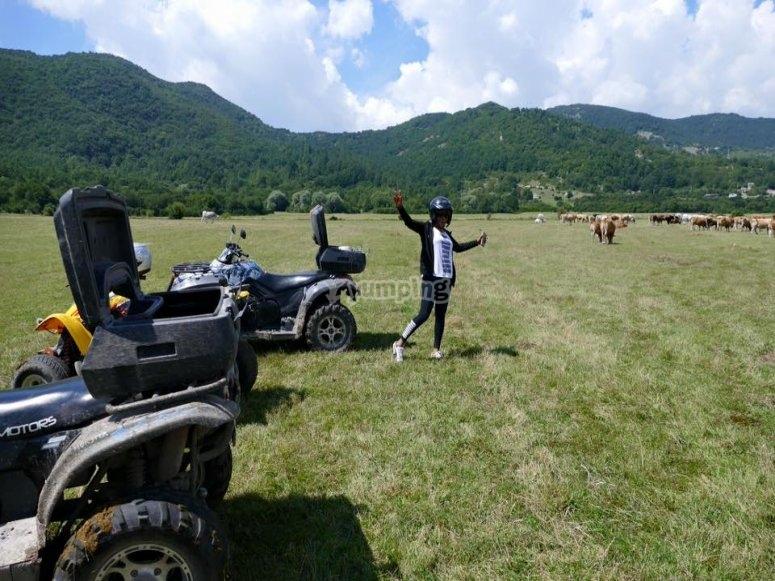 Pausa durante l escursione