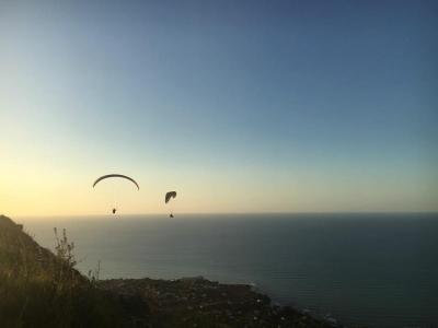 Parapendio in tandem a Palermo con video (25min)