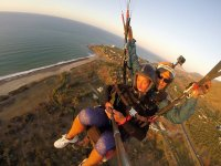 Tandem paragliding in Palermo with pick-up (25min)