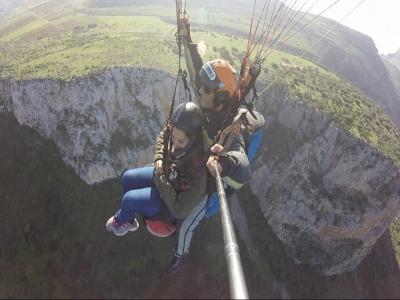 Volo parapendio+video(25min), San Vito Lo Capo