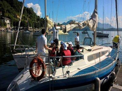 Escursione 1/2 giornata barca a vela, Belgirate