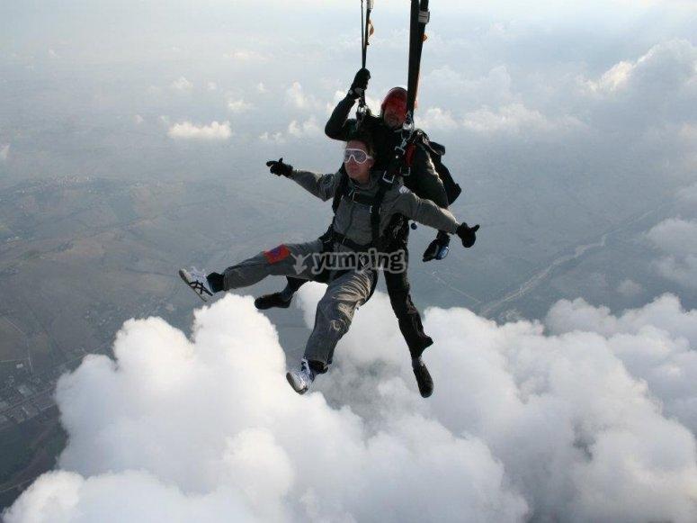 Apertura del paracadute