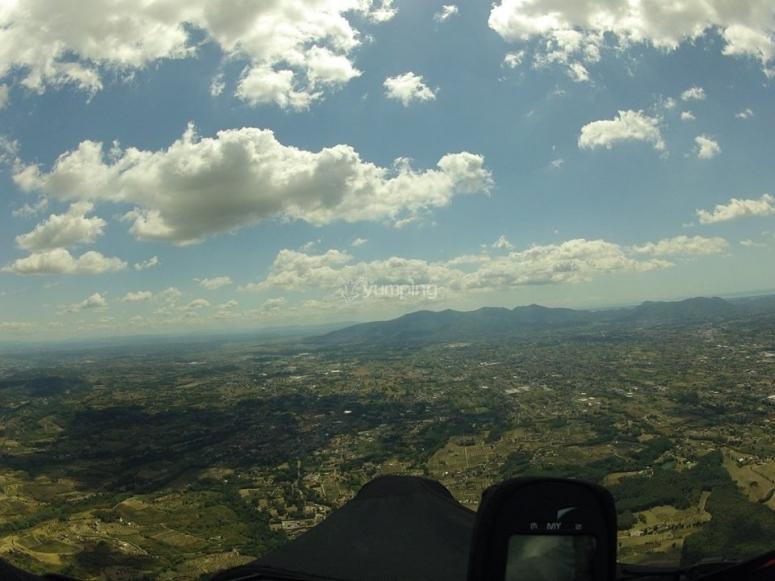 Nuvole e volo