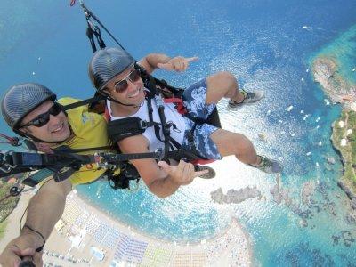Volo parapendio biposto acrobatico Bergeggi 20 min