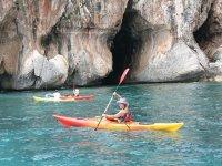 Noleggio Kayak con guida