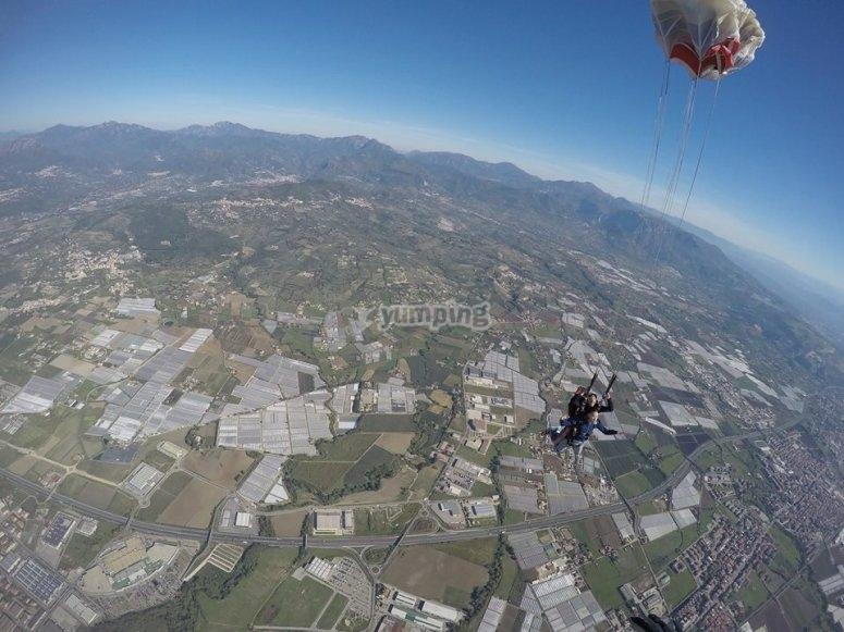 Let's open the parachute