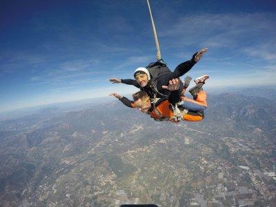 Volo tandem in paracadute+video e foto, Pontecagno