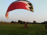Paragliding flight to Bassano or Asolo 30 minutes