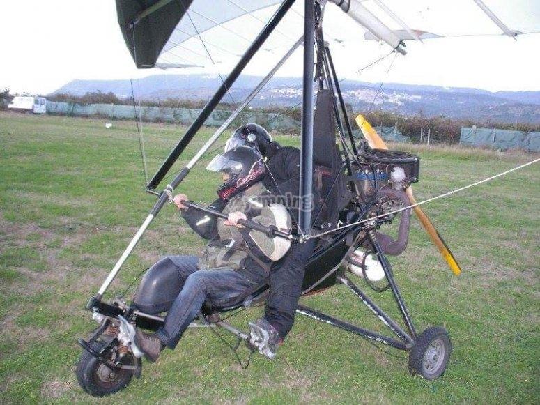 uno dei nostri paramotori