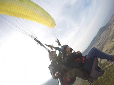 Volo in parapendio(10 minuti)+ foto , Sassari