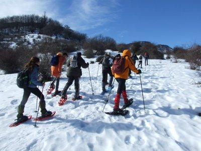 Snowshoeing in the Madonie Park
