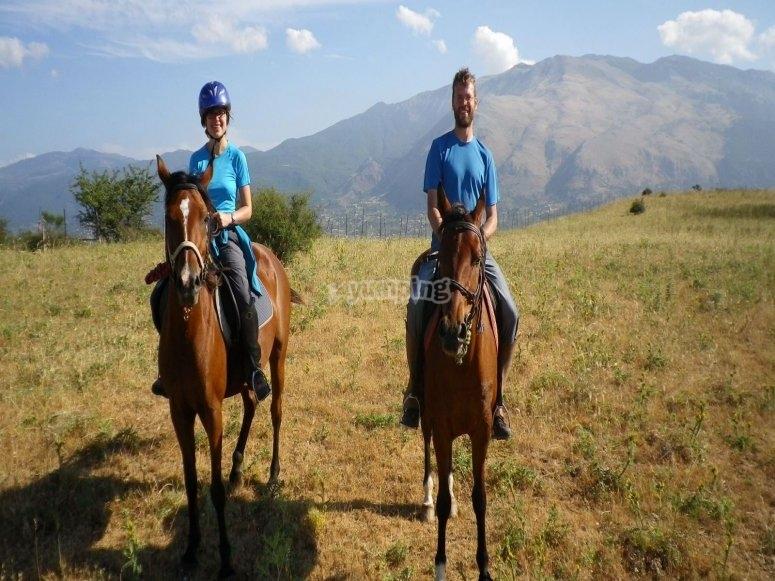 Lasciati incantare da questa fantastica passeggiata a cavallo