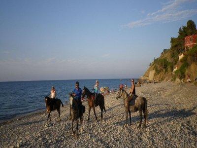 Horse trekking, Sant'Ambrogio (7h)
