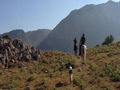 Weekend on horseback at Piano Battaglia