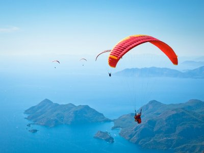 Paragliding flight + video (1 hour), Castelbuono